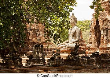 Antique Statue of Buddha