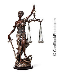 Antique Statue of justice - A picture of a Themis statue...