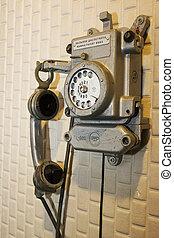 antique telephone KGB
