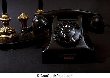 Antique Telephone Still Life