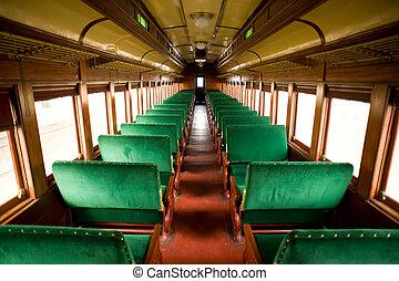 Antique Train Cabin