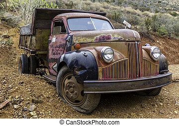 antique truck 2