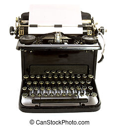 antique type-writer - antique typewriter
