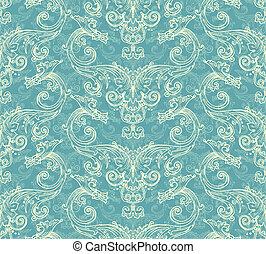 Antique victorian seamless pattern