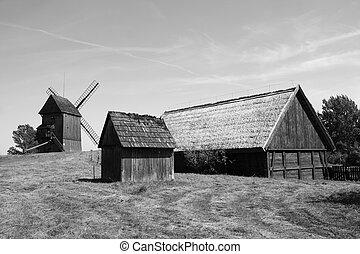 Antique village