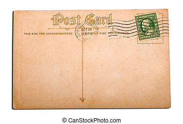 Antique, vintage postcard