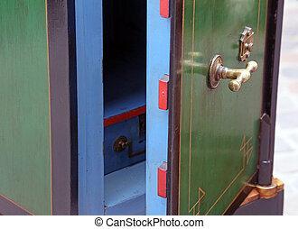 vintage safe open for sale in antiques