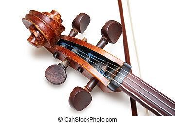 antique violoncello