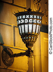 Antique wall lamp