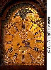 antique watch face