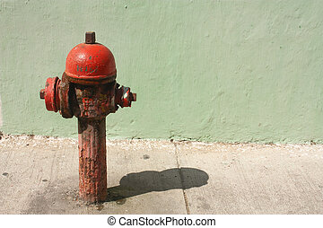 Antique water outlet - Cartagena de Indias, Caribbean...