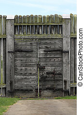 Antique Wood Gate