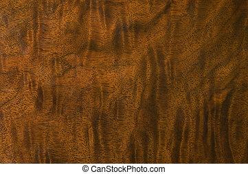 Antique Wood Grain - Polished wood grain on antique ...