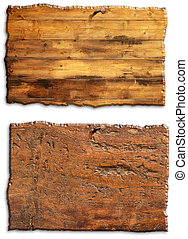 antique wooden boards