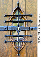 Entrance to dormitory of Princeton University, New Jersey, USA