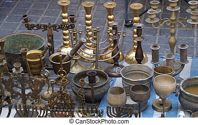 Antiques in jerusalem east market