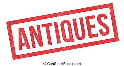 Antiques rubber stamp
