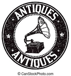 Antiques stamp