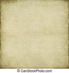 antiquité, bambou, papier, tissé, fond