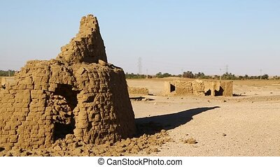 antiquité, enterrement, musulman, ville