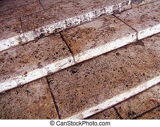 antiquité, escalier