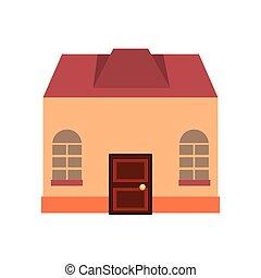 antiquité, façade bâtiment, architecture, classique