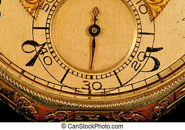 antiquité, face montre