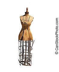 antiquité, forme robe