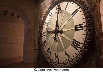 antiquité, horloge