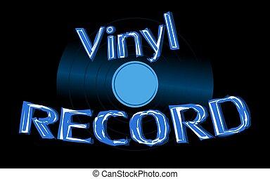 antiquité, inscription, vecteur, vieux, enregistrement, vendange, illustration, audio, space., 70, vinyle, 80, hipster, 90, fond, 60, 50, copie, musical, retro