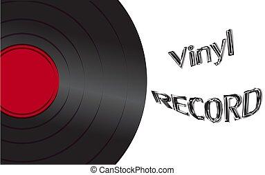 antiquité, inscription, vieux, vendange, enregistrement, hipster, retro, fond, audio, musical, vinyle