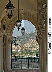 antiquité, lanternes