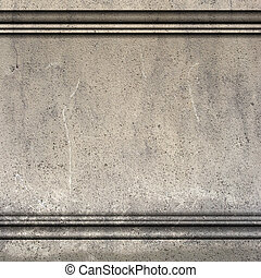 antiquité, render, moulure, mur, grec, romain, 3d
