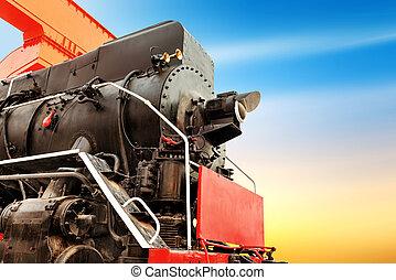 antiquité, train