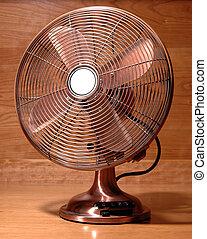 antiquité, ventilateur