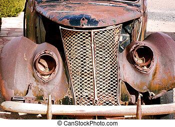 antiquité, voiture