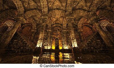 Antiquity - 3D CG rendering of antiquity