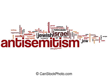antisemitism, 词汇, 云