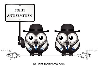 Antisemitism message