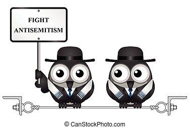 Antisemitism message