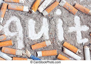 Antismoking background