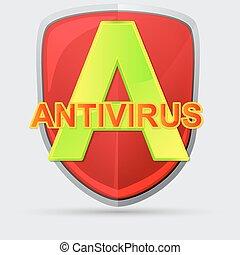 antivirus, アイコン