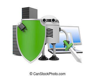 Antivirus - Image contain the clipping path
