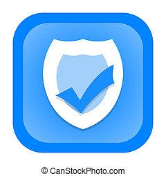antivirus, pictogram