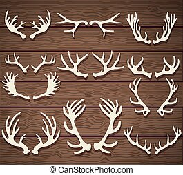 antlers, fából való, állhatatos, őz, falusias