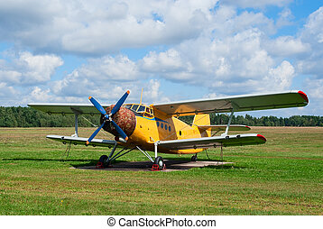 An-2 agricultural plane