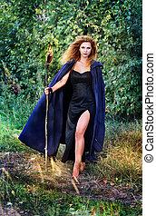 Antorchas, bruja