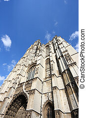 Antwerp, Belgium - medieval Cathedral of Our Lady...