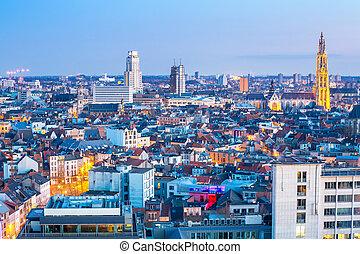 Antwerp cityscape