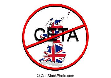 Anty ceta comprehensive economic and trade agreement on picture anty ceta comprehensive economic and trade agreement on white background united kingdom map platinumwayz